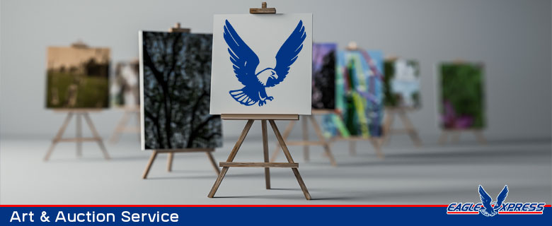 Art and auction courier services