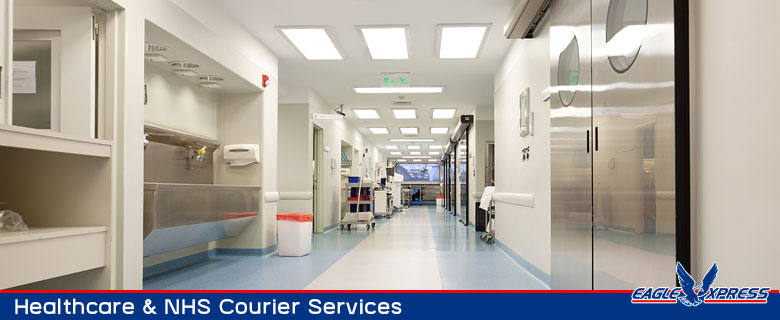 Healthcare and NHS courier services
