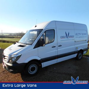 Extra Large Courier Vans