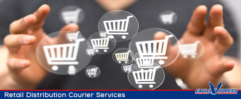 Retail and distribution courier services